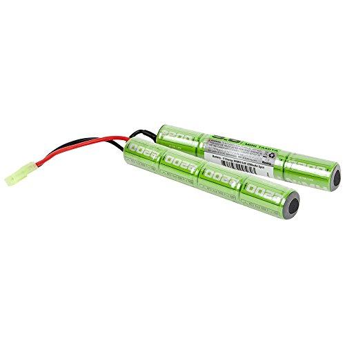 Valken Airsoft Battery - NiMH 9.6V 2200mAh Split by Valken