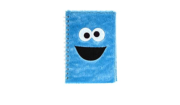 Diario Oficial Sesame Street Cookie Monster Plush A5 Lined ...