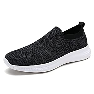 DREAM PAIRS Men's Sneakers Breathable Lightweight Athletic Shoes 171114-M