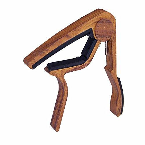Campbells Select Healthy - VT BigHome Quick Change Clamp Key Acoustic Classic Guitar Capo Adjust The Pitch Personalized Wood Grain Guitar Capo Guitar Accessories