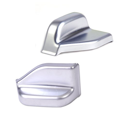 - SalaBox-Accessories - 2x Chrome Interior B Pillar Seat Belt Adjust Cover Trim for Mercedes Benz B Class W246 B180 B250 2012 2013 2014 2015