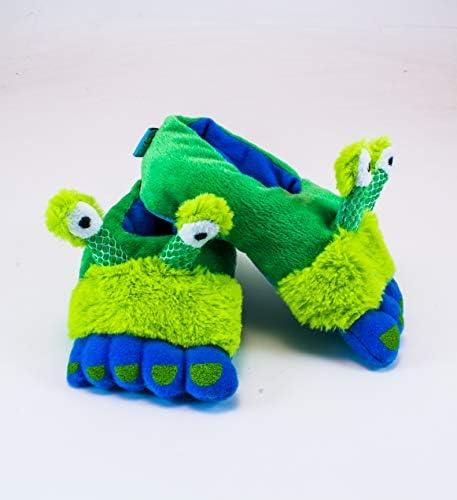 Rich FrogファンキーFeet Slippers–Alienフィート