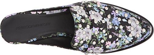 Rebecca Minkoff Womens Milena Black Garden Floral Silk t4NwvfFm