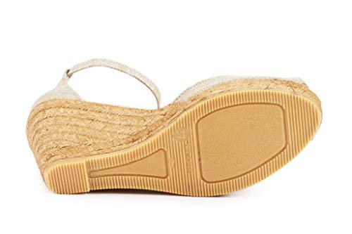 088367e0666 VISCATA Handmade in Spain Aiguafreda 3' Wedge, Soft Canvas, Ankle ...