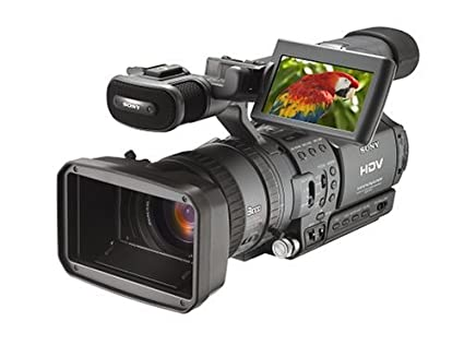 amazon com sony hdr fx1 3 ccd hdv high definition camcorder w 12x rh amazon com Sony HDV DVCAM Sony FX1 Camcorder Review