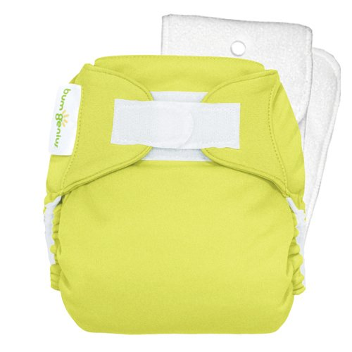 - BumGenius 4.0 Pocket Cloth Diaper - Hook & Loop - Stellar - One Size