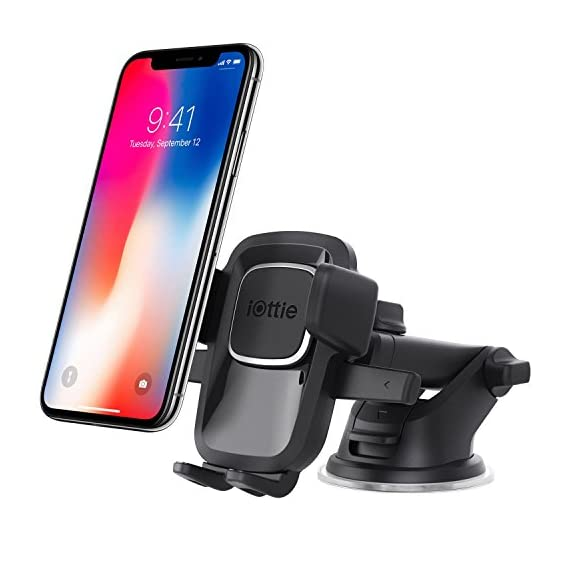 iOttie-Easy-One-Touch-4-Dashboard-Windshield-Car-Mount-Phone-Holder-for-iPhone-X-8-Plus-7-6s-SE-Samsung-Galaxy-S9-S8-Edge-S7-S6-Note-8-other-Smartphone