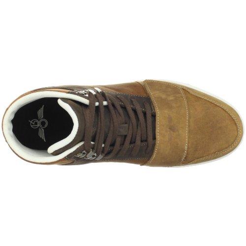 Creatieve Recreatie Heren Cesario Hoge Sneaker Bruin