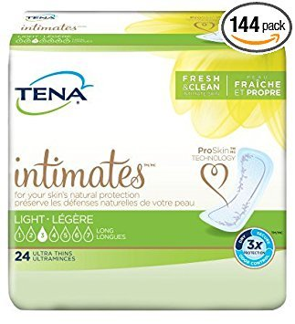 TENA Intimates Light Ultra Thin Pads Long - Case of - Pads Extra Serenity Tena Plus