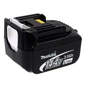 Batería recargable para herramientas eléctricas portátiles multifonctionnels Makita BDF441RFE Sonora, 14,4V, Li-Ion [batería herramienta electroportátiles]