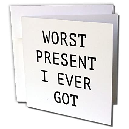 Amazon tory anne collections quotes worst present i ever got tory anne collections quotes worst present i ever got 12 greeting cards with envelopes m4hsunfo