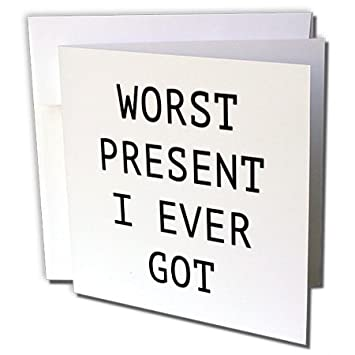 Amazon tory anne collections quotes worst present i ever got tory anne collections quotes worst present i ever got 6 greeting cards with envelopes m4hsunfo