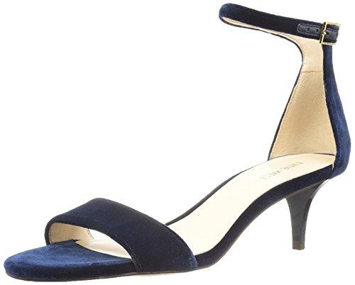 Grey Medium Leisa West Fabric Navy Sandal Women's Nine Light 0vqxYP