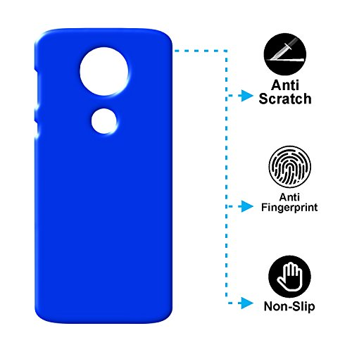 Case Creation Back Cover for Motorola Moto E5 Plus 6.0 #34; inch  Dark Royal Blue