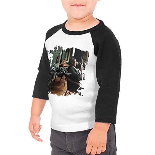 BowersJ BB King Blues On The Bayou Kids 3/4 Sleeve Raglan Baseball T Shirts for Girls & Boys Black 4T