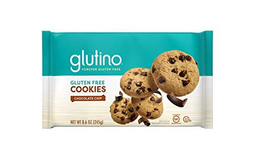Glutino Gluten Free Chocolate Chip Cookies, Decadent Cookies, 8.6 Ounce