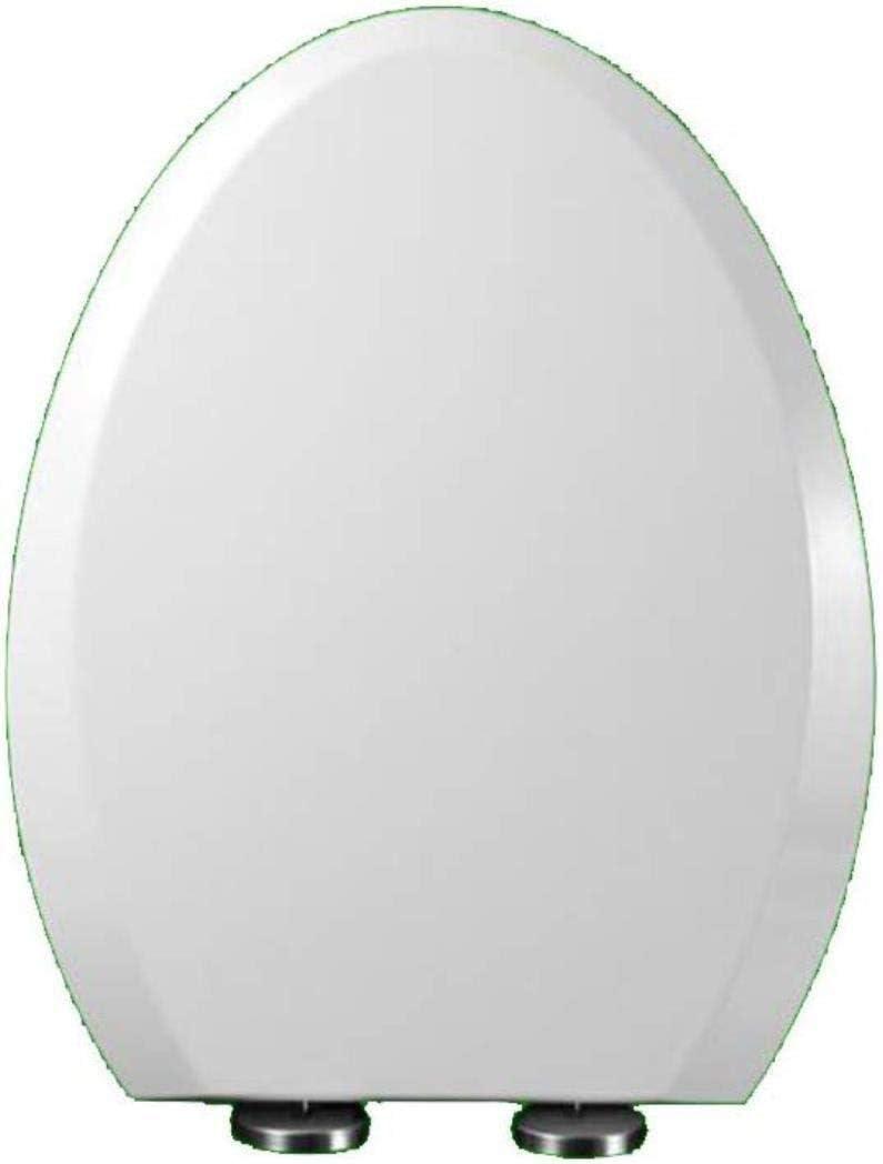 Asiento del Inodoro Cierre Suave De Asiento De Inodoro Color : 41 * 34.5cm, Size : One size Dise/ño Ergon/ómico U//V//S Tipo WC Tapa Con Resina De Urea-formaldeh/ído