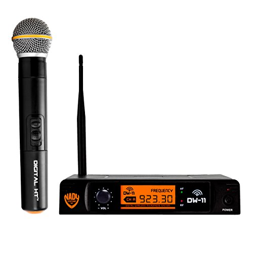 - Nady DW-11 Digital Wireless Handheld Microphone System - Ultra-low latency with QPSK modulation - XLR and ¼