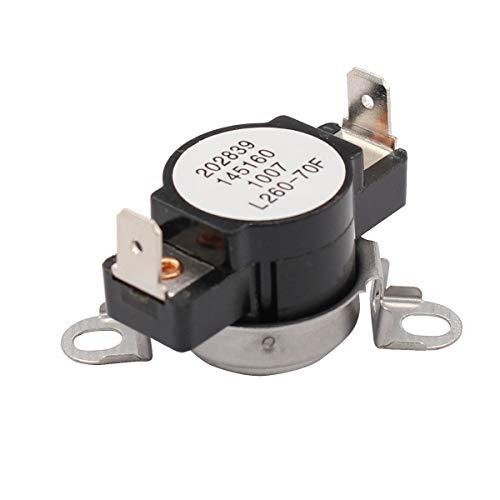 (ApplianPar 3204267 Dryer High-Limit Thermostat L260 for Frigidaire AP2131477 508516 AH446428 EA446428 PS446428)