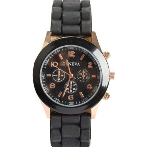 Geneva Unisex Silicone Jelly Gel Quartz Analog Sports Wrist