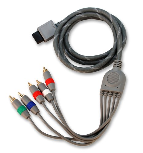 Wii ezGold HD Pro Component AV Cable