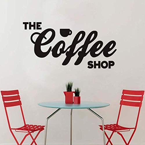 pbldb Wall Sticker Adhesive Letters The Coffee Shop