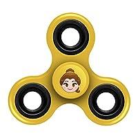 "FOCO Disney Princess Diztracto Spinnerz Three Way Set-Belle Spinner Toy, Yellow, 3"" x 2.75"""