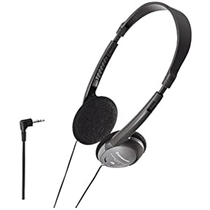 Panasonic RP-HT40-H Headphones Folding compact open-air dynamic stereo RPHT40