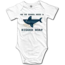 XuYongfei Baby We're Gonna Need A Bigger Boat Cotton Infant Onesie Newborn Clothes