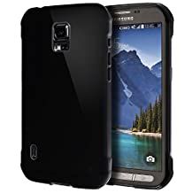 Samsung Galaxy S5 Active Case, Cimo [Grip] Premium Slim TPU Flexible Soft Case For Samsung Galaxy S 5 V Active (2014) - Black