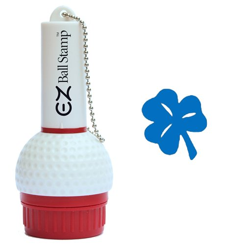 ProMarking EZBallStamp Golf Ball Stamp - Blue Shamrock