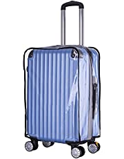 """Holly LifePro Travel Waterproof Luggage Clear PVC Cover Protector Suitcase Fits Most 20"""" to 33"""" Luggage"""