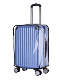 """Holly LifePro Travel Waterproof Luggage Clear PVC Cover Protector Suitcase Fits Most 20"""" to 32"""" Luggage"""