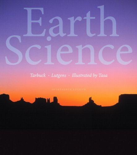 Earth Science (14th Edition) cover