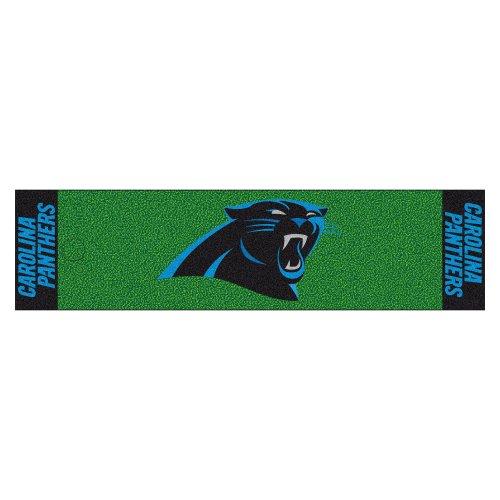 Carolina Panthers Face (FANMATS NFL Carolina Panthers Nylon Face Putting Green Mat)