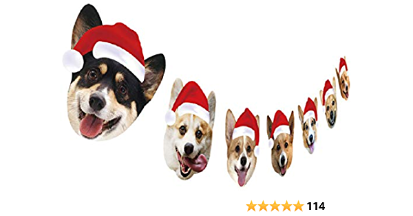 Handmade Labrador Garland//Bunting//Gift Christmas