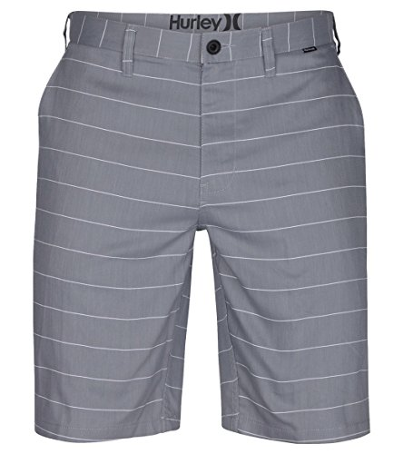 Hurley Men's Dri-Fit Porter Walkshorts Grey Shorts (36)