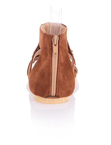 Black Dress Shangyi Women's Yellow Sandals Flat Comfort Beige Shoes Casual Outdoor Heel qazqf0