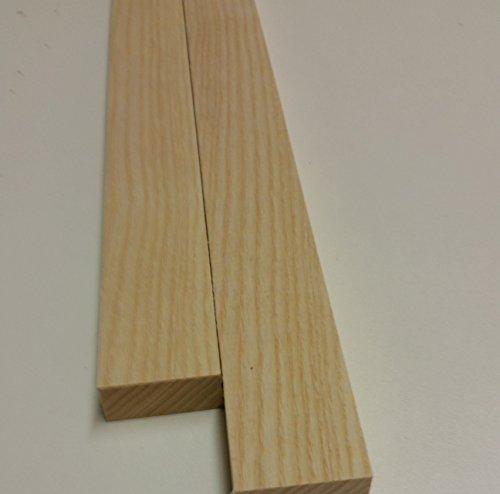 10 listelli in legno di faggio, 500 x 32 x 14 mm