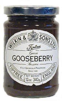 Tiptree's Gooseberry preserve packed in 12oz jar