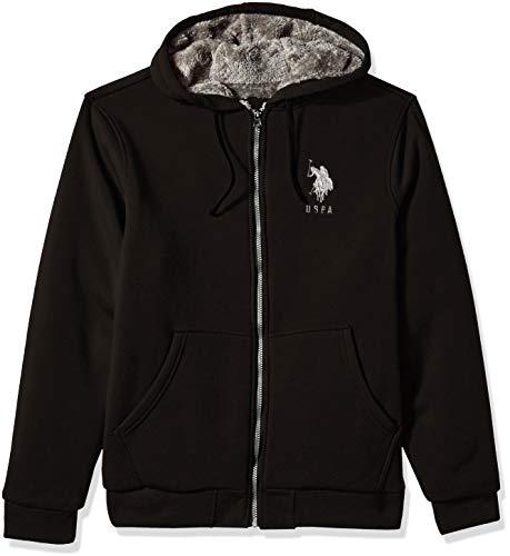 buy popular 24692 58ebb U.S. Polo Assn. Men s Fleece Hoodie, ...