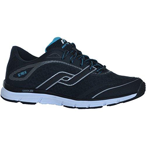 Run–Zapatillas oz Pro IV M–Negro/Azul negro Talla:47 EU - negro