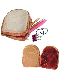Yummy Pocket Zip Coin Purse, Peanut Butter and Jelly