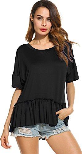 SimpleFun Fashion Batwing Pullover T Shirt