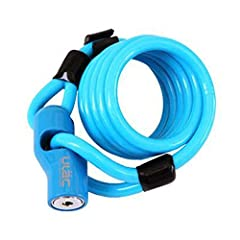 Product Name: Mountain bike lock       Color: blue, white       Applicable gender: universal       Material: steel wire       Category: bicycle lock / chain lock       Specification: 1.2m       about us:       If you have any questions...