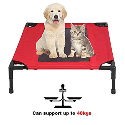 Newgreenca - Cama con Cama elástica Transpirable para Mascotas, con diseño de Perros: Amazon.es: Productos para mascotas