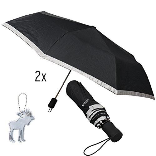 Friendly Swede Reflective Close Umbrella