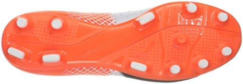 Zapato de f¨²tbol Evospeed 3.5 Lth FG para hombre, Puma White / Puma Black, 9 M US