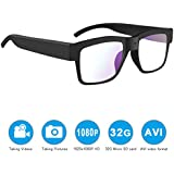Camera glasses,MOVTEKE Digital Camera glasses HD 1080P Video Recorder 32G Micro SD Card Recording