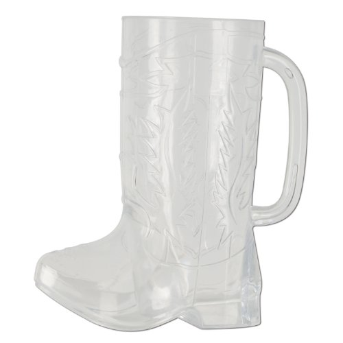 (Plastic Cowboy Boot Cup Party Accessory (1 count))